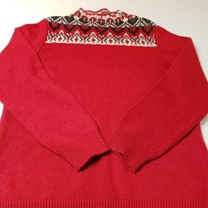 Coldwater Creek Ugly Christmas Sweater sz L